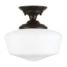Sea Gull 77437-782 - Large One Light Semi-Flush Mount