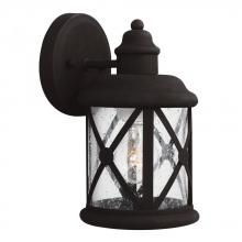 Sea Gull 8521401-12 - Small One Light Outdoor Wall Lantern