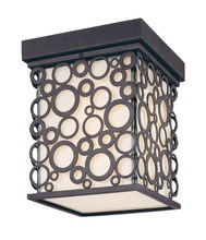 Troy C5010FI - One Light French Iron Outdoor Flush Mount