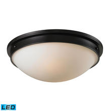 ELK Lighting 11451/2-LED - Flushmounts 2 Light LED Flushmount In Oiled Bron