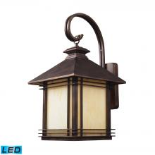 ELK Lighting 42102/1-LED - Blackwell 1 Light Outdoor LED Sconce In Hazelnut