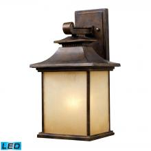 ELK Lighting 42181/1-LED - San Gabriel 1 Light Outdoor LED Sconce In Hazeln