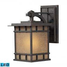 ELK Lighting 45011/1-LED - Newlton 1 Light LED Outdoor Sconce In Weathered